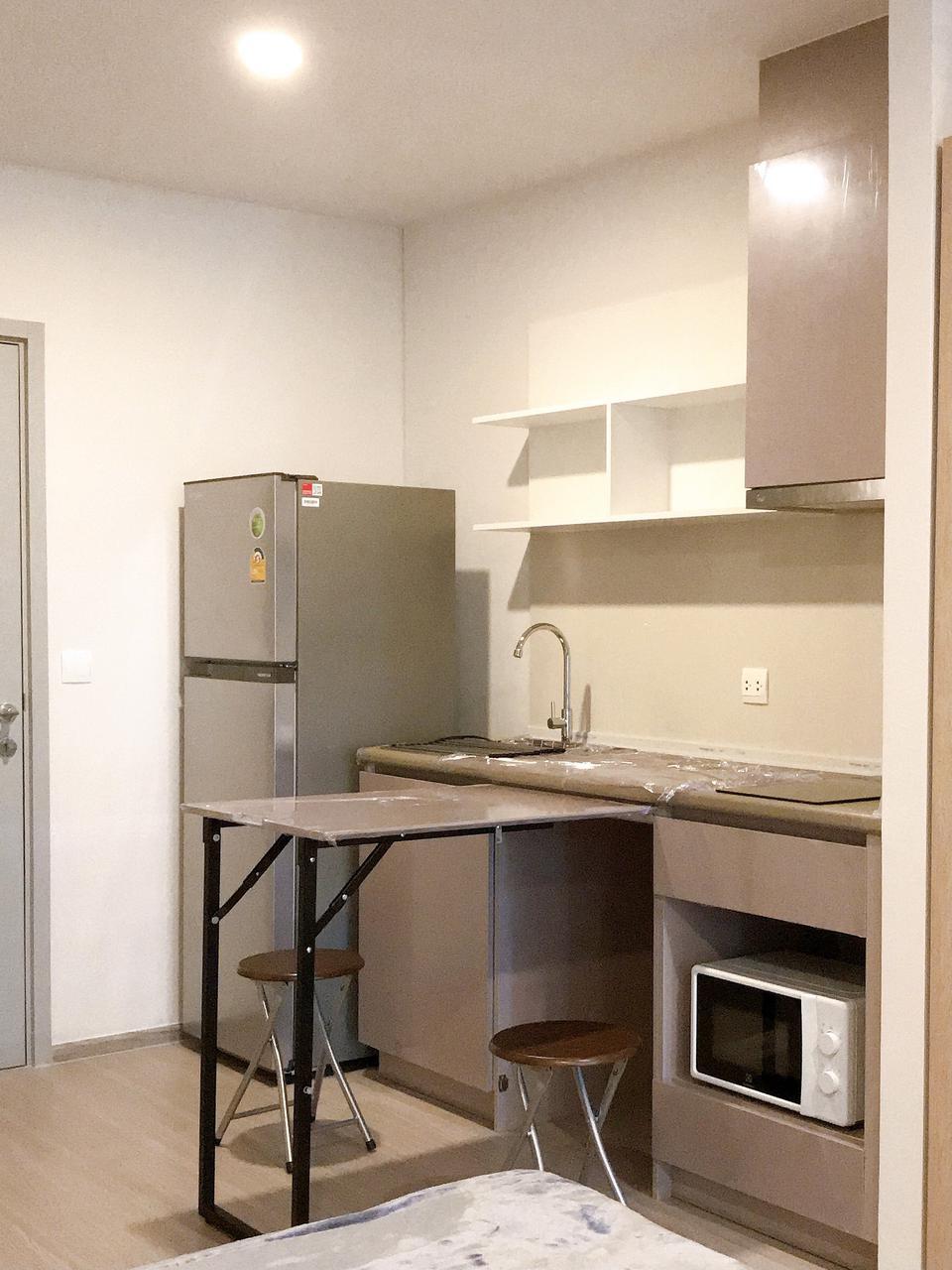 Fully furnished For rent ให้เช่า ฿12,000 ห้อง 25 ตร.ม. 8F ใหม่พร้อมอยู่ Aspire อโศก-รัชดา **รับ Agent รูปที่ 2
