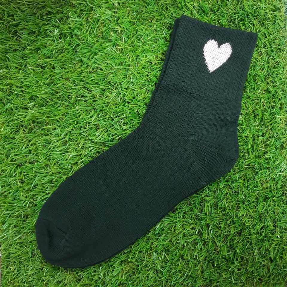 ถุงเท้าแฟชั่น สีดำ รูปที่ 1