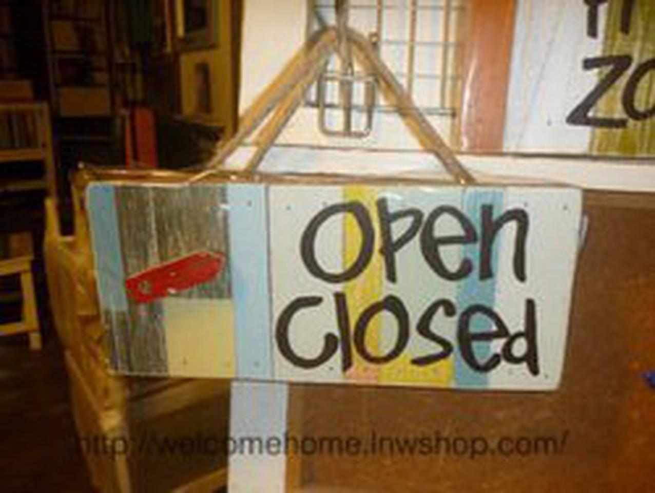 ป้ายเปิด-ปิดสวยๆสำหรับตกแต่งหน้าร้านอาหารตามสั่งร้านกาแฟครับ รูปที่ 2