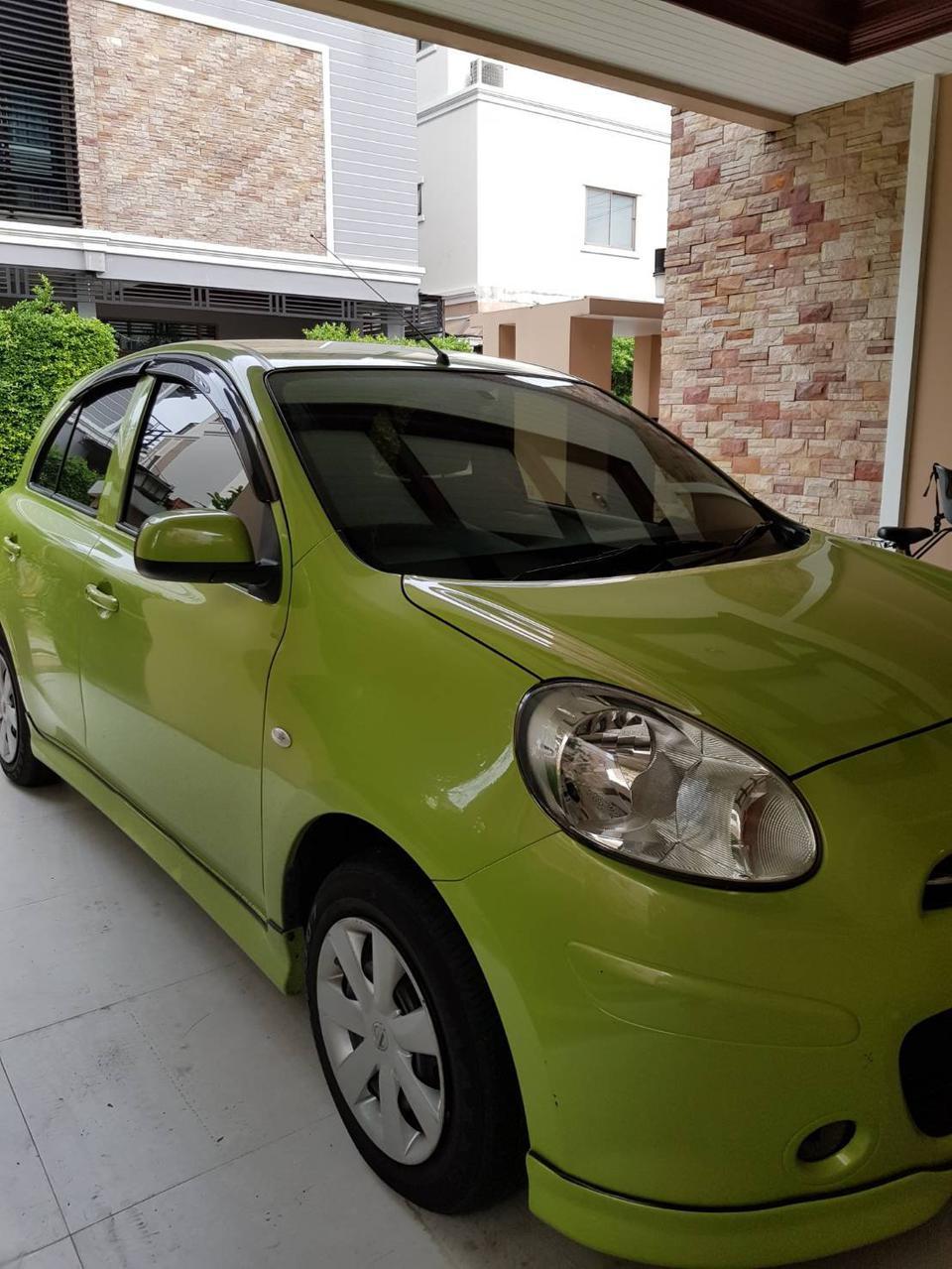 ขายรถเก๋ง Nissan March  2011 เขต ยานนาวา จังหวัด กทม. รูปที่ 4