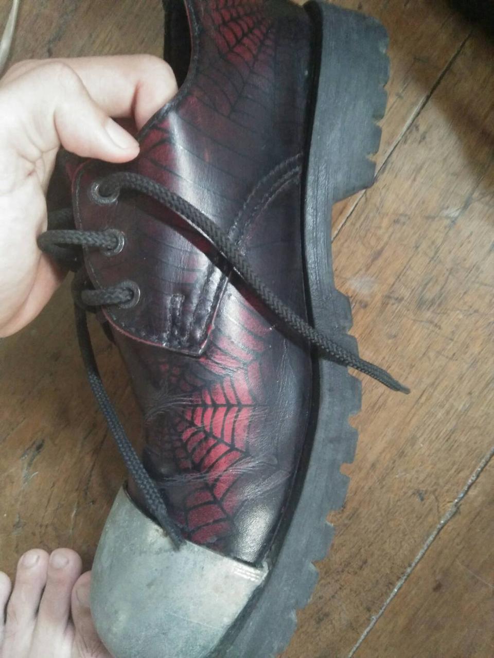 รองเท้าunderground แมงมุมเเดง 7uk รูปที่ 3