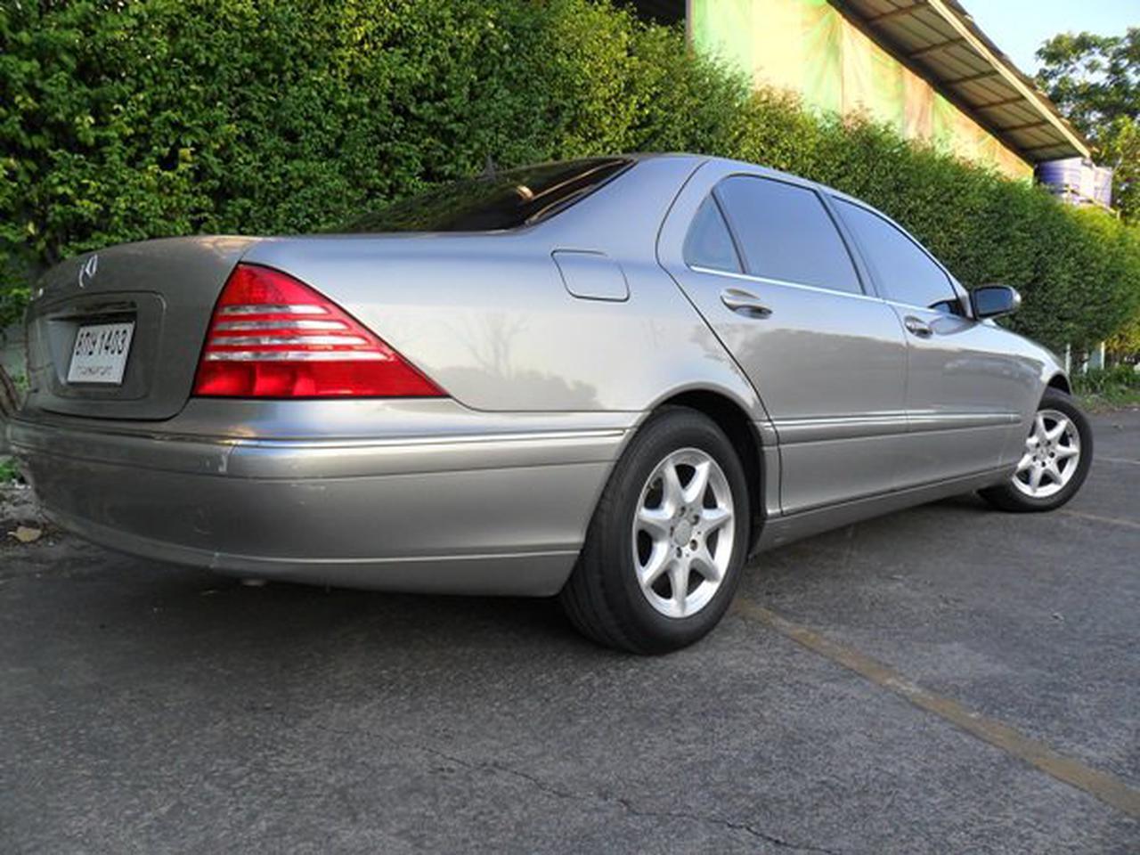 Benz S280 L 2004 ประวัติศูนย์ ระบบถุงลมและไฟฟ้าใช้งานได้สมบูรณ์ ไม่ติดแก๊ส สวยพร้อมใช้งาน  รูปที่ 2
