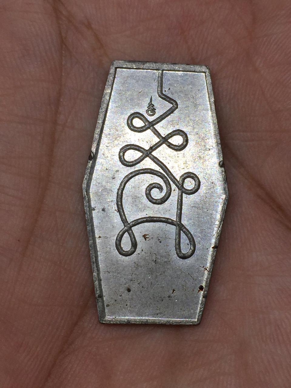 ปู่ศูขเหรียญหกเหลี่ยมพระสวยพิธีใหญ่ออกวัดมะขามเฒ่า รูปที่ 1