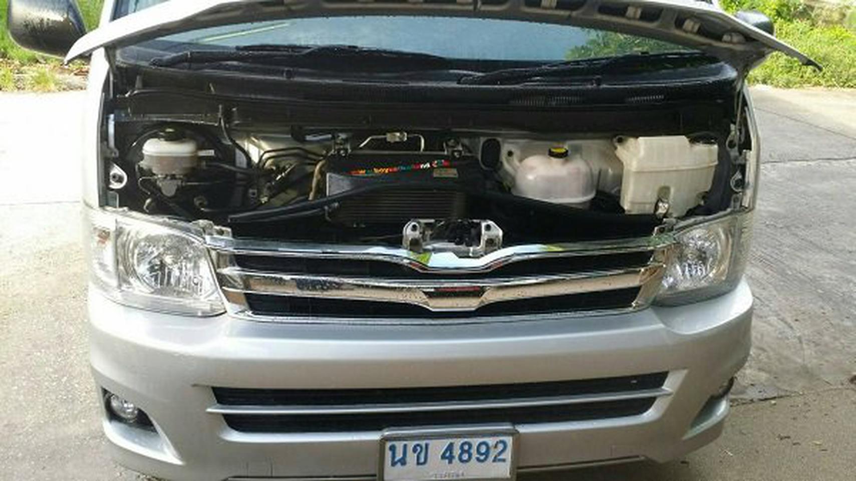 ขายรถตู้  TOYOTA  COMMUTER  2011 รูปที่ 6