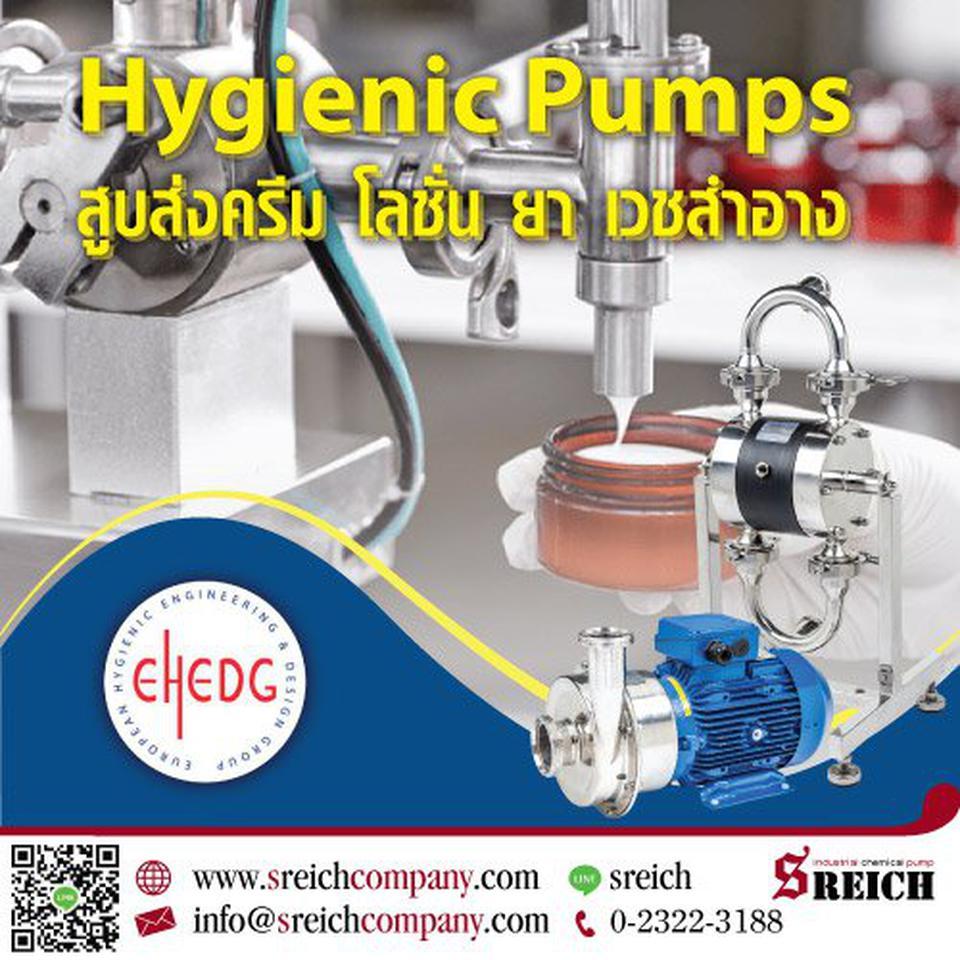 Food grade pumps ปั๊มเกรดอาหารสำหรับอุตสาหกรรมที่ต้องเน้นความสะอาดเป็นหลัก รูปที่ 1