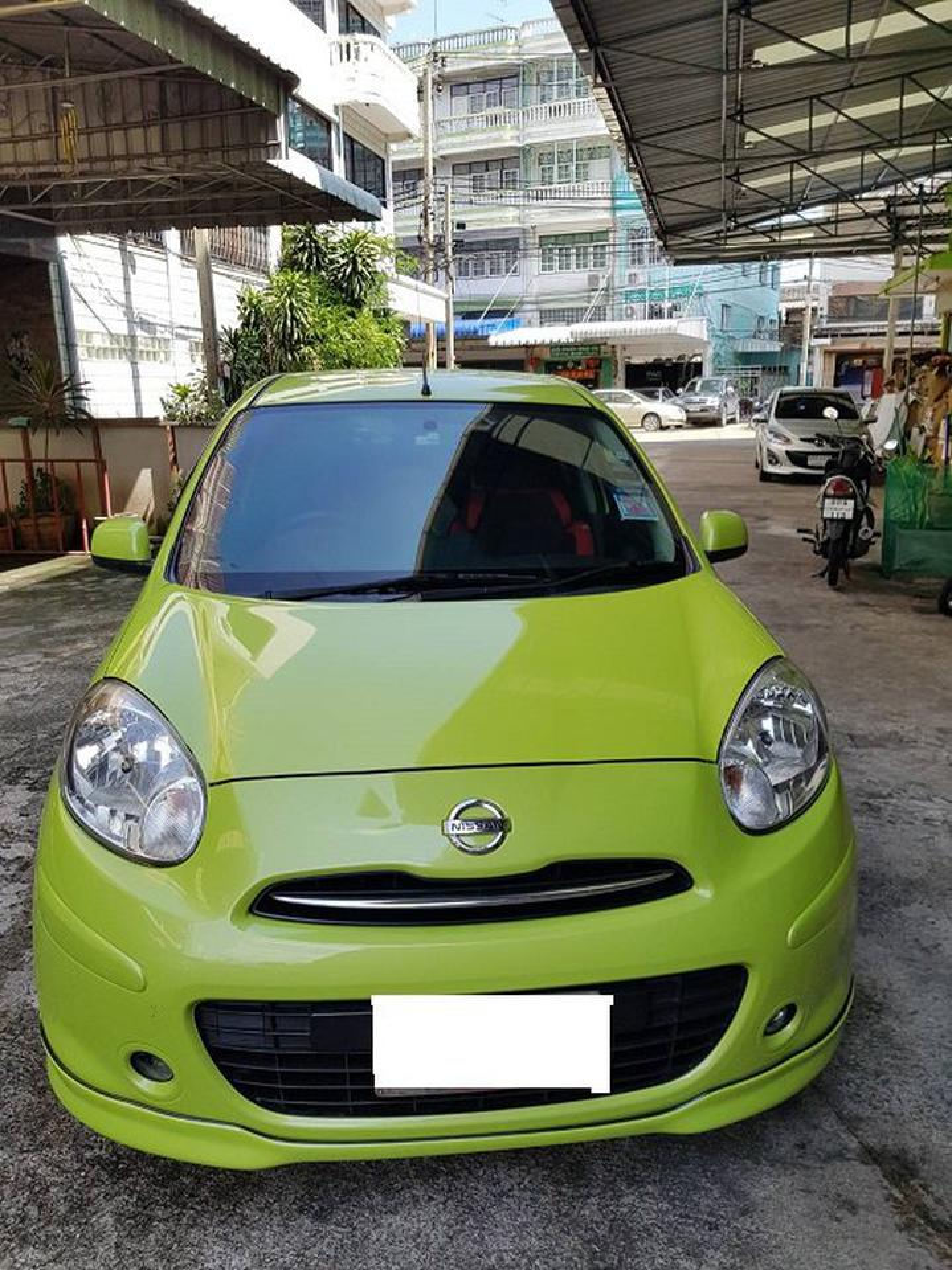 ขายรถเก๋ง Nissan March  2011 เขต ยานนาวา จังหวัด กทม. รูปที่ 1