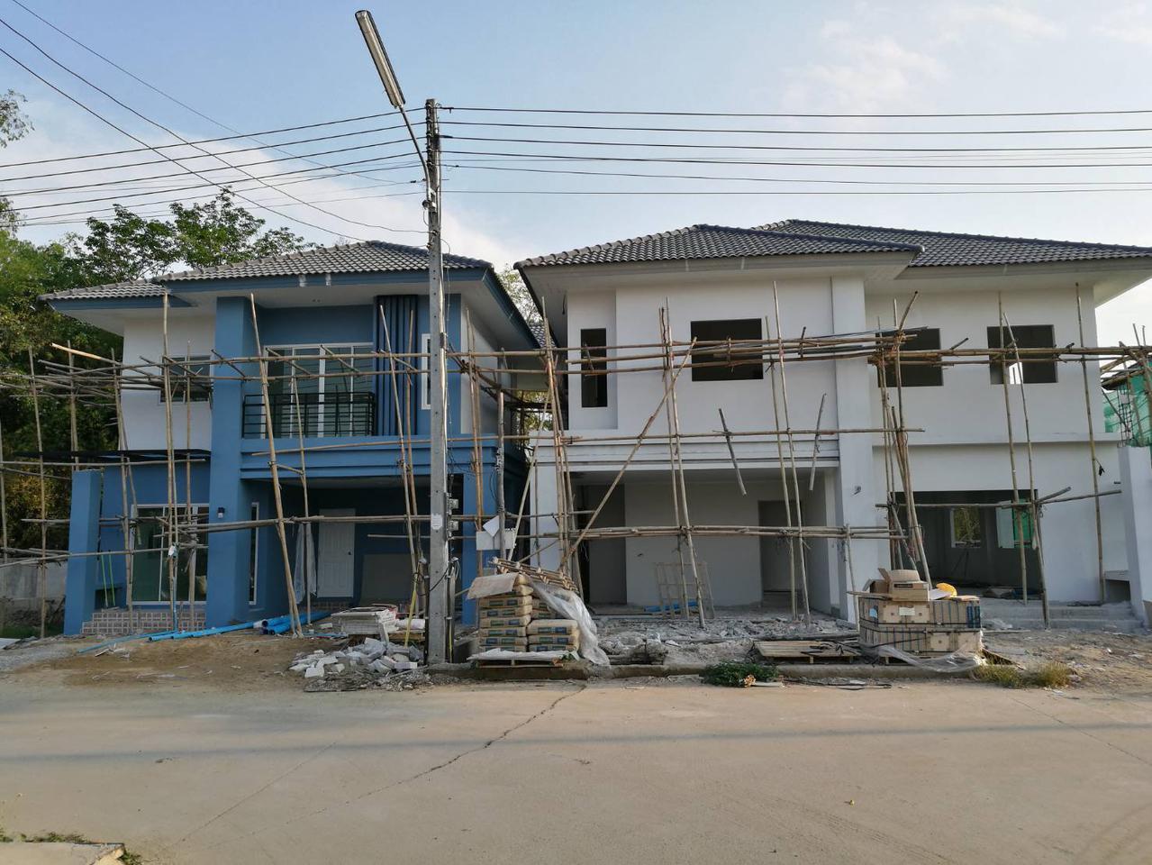 บ้านเดี่ยวเชียงใหม่ในหมู่บ้านบุรีทาน่า รูปที่ 1