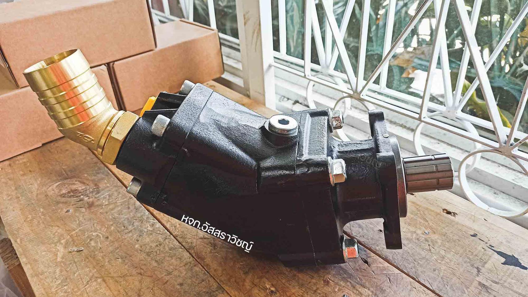 ปั้มงอไฮดรอลิคค หรือปั้มนิ้วแบบงอไฮดรอลิค ยี่ห้อ TDZ รุ่น FR series รูปที่ 3