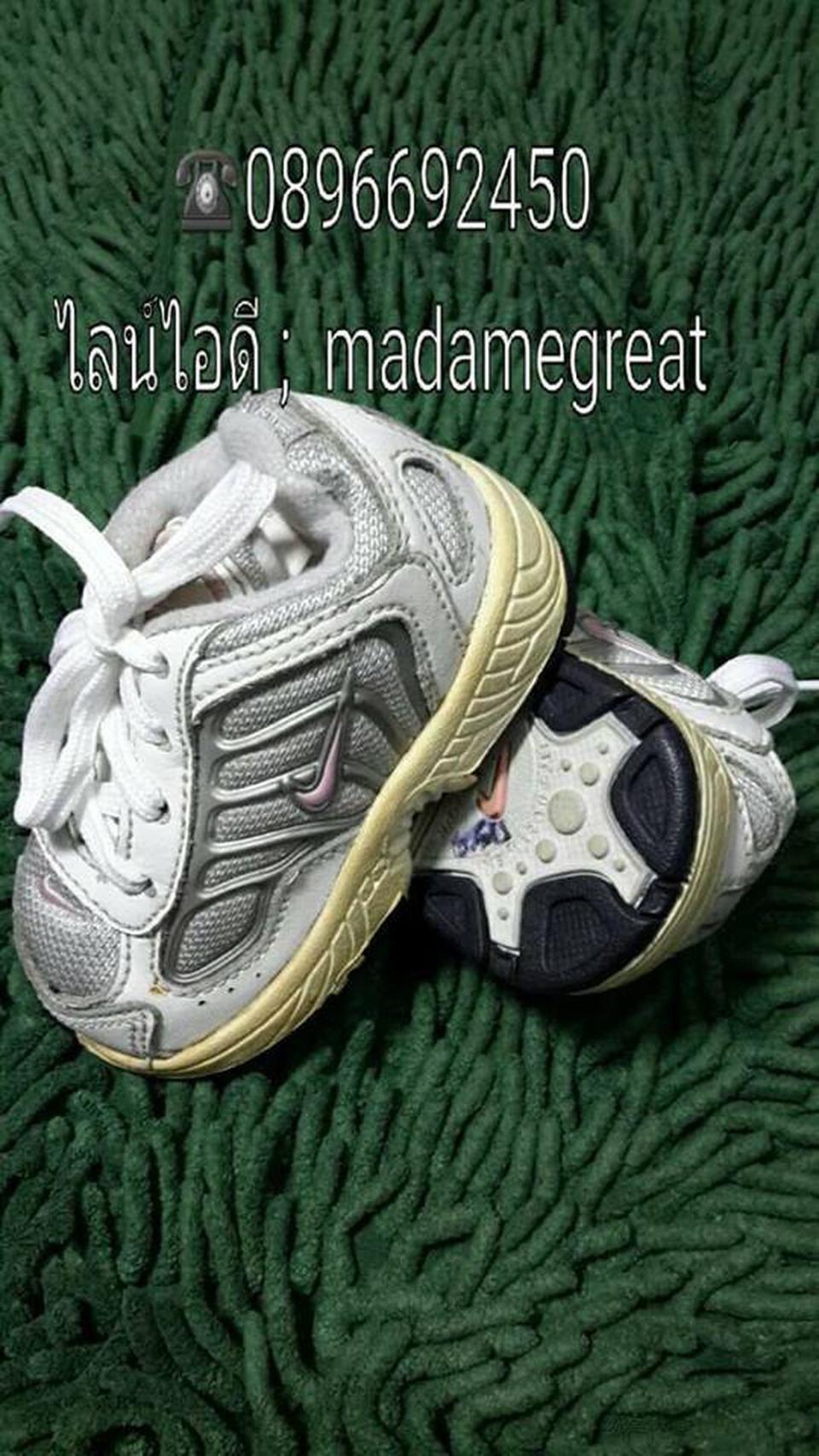 รองเท้าเด็กNIKE ของแท้มือสองสภาพดี รูปที่ 1