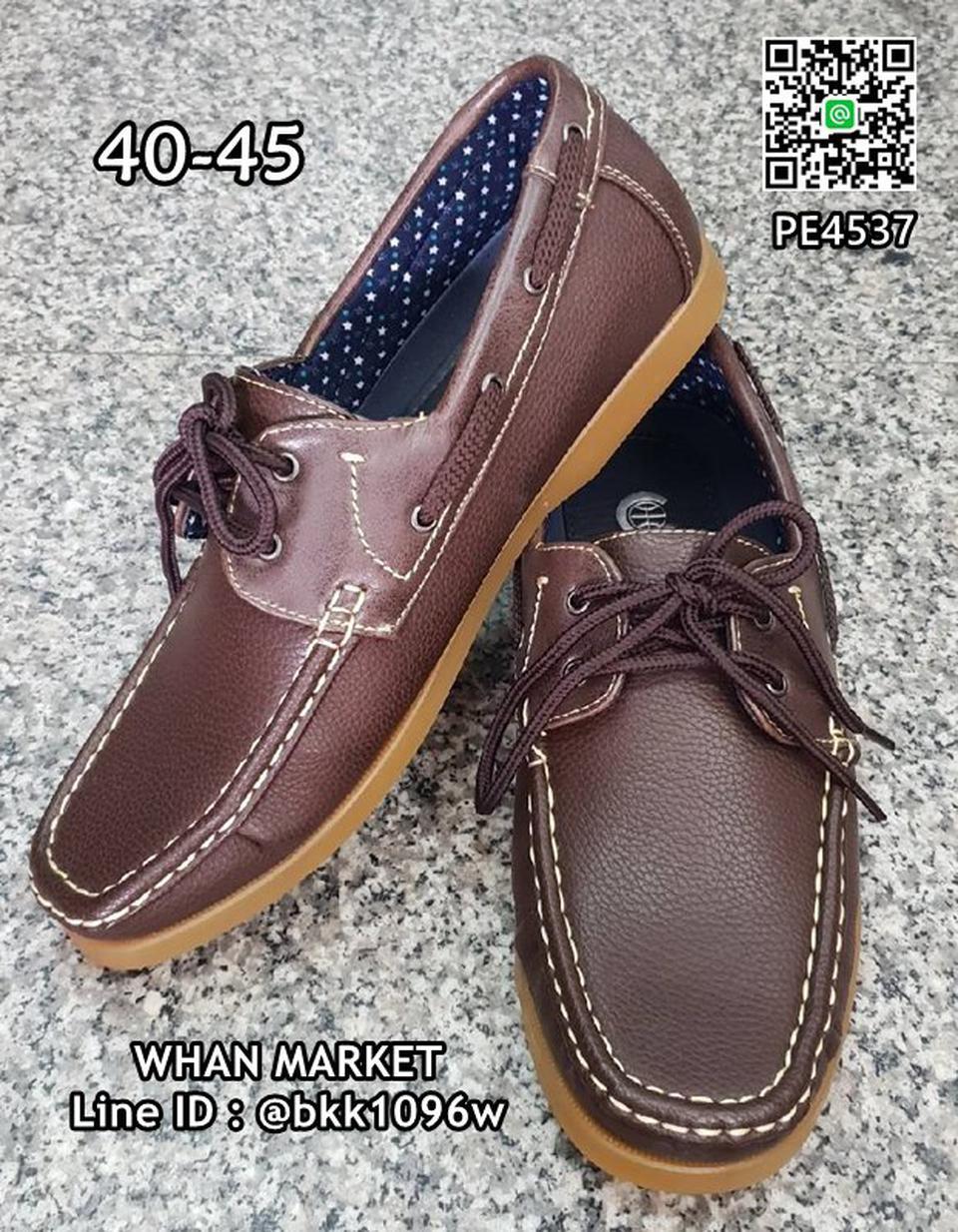 รองเท้าคัชชูหนังผู้ชาย boat shoes วัสดุหนังPU คุณภาพดี  รูปที่ 4