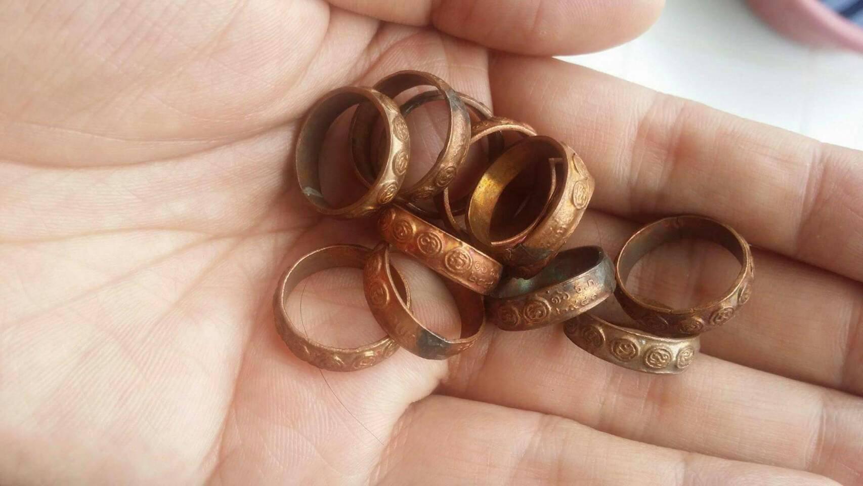 ขายแหวนมงคลเก้า วัดราชบพิตร ปลุกเสกครั้งที่4 ปี2481 รูปที่ 5