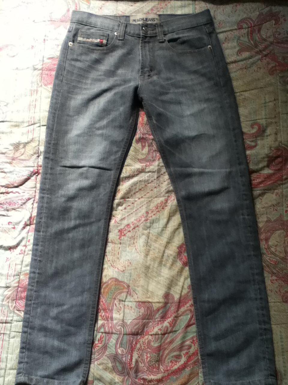 กางเกงยีนPeachijeans กระบอกเล็ก เอว30 รูปที่ 1