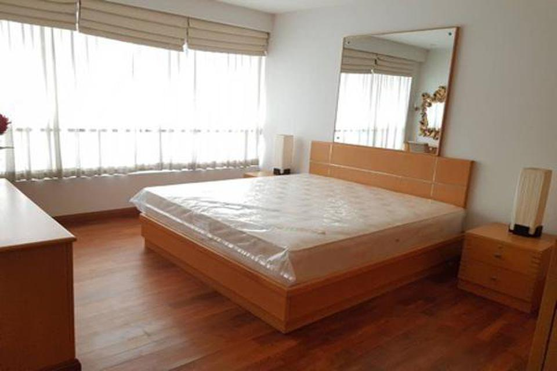 For Rent,bargain price,Langsuan Ville Condo near BTS Ratchadamri 77 sqm 1 bed รูปที่ 4