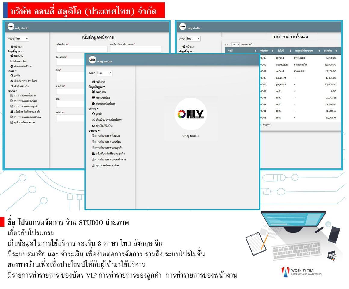 รับเขียนโปรแกรม รับทำเว็บไซต์รับออกแบบเว็บไซต์ รูปที่ 2