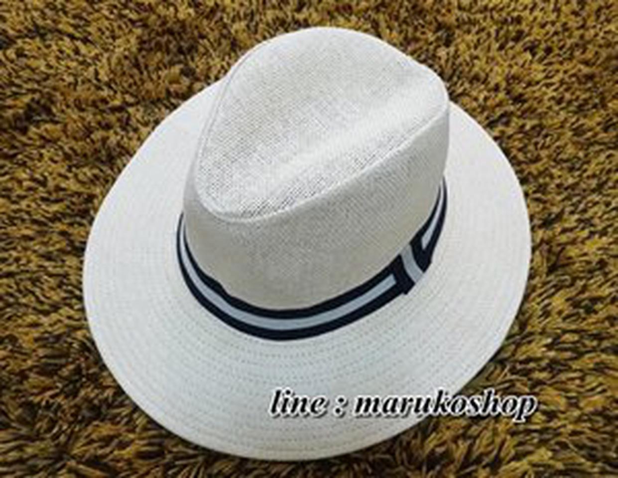 หมวกแฟชั่น หมวกไปทะเล หมวกปานามา สวยๆราคาถูกๆ รูปที่ 5