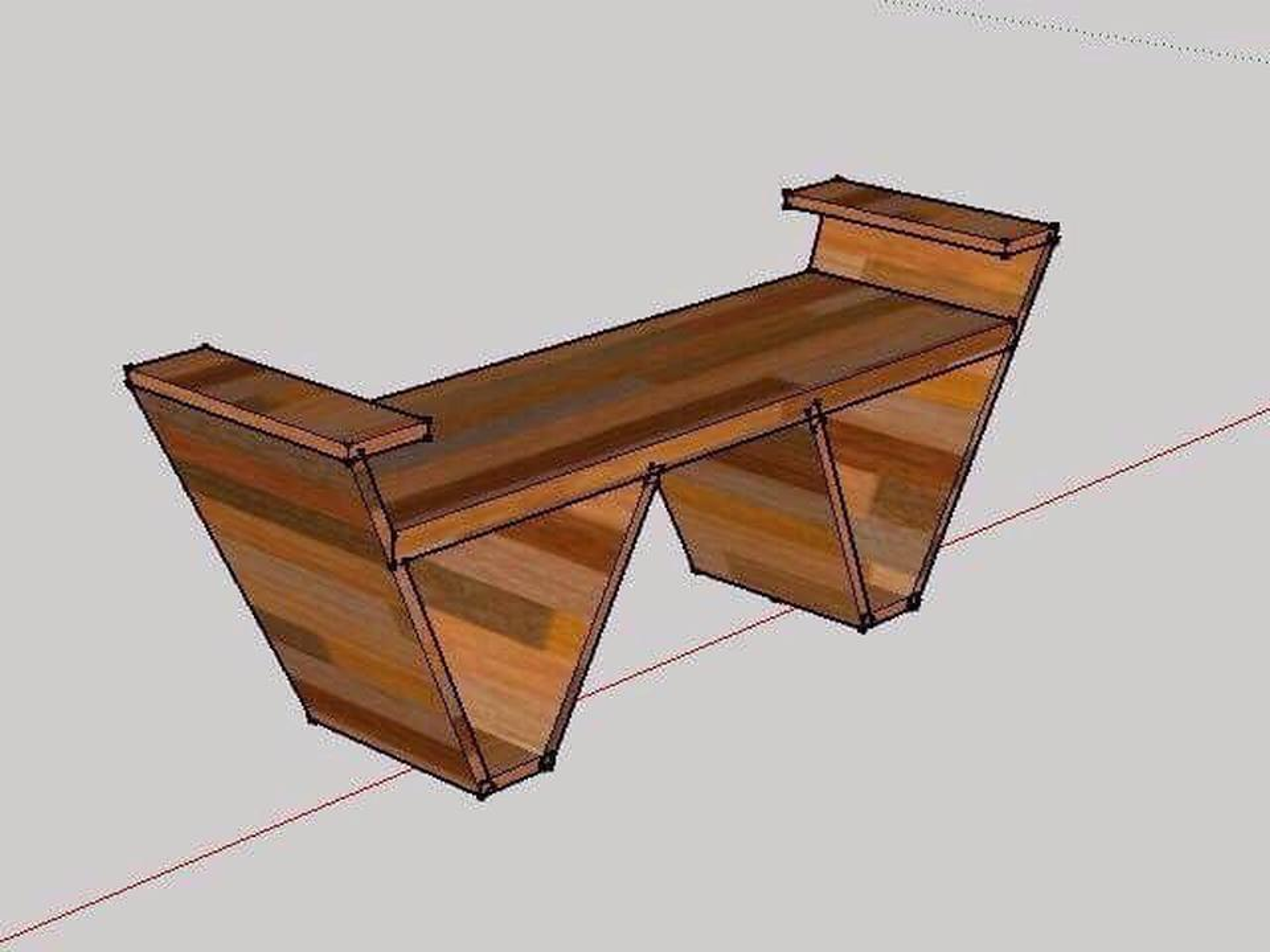 เก้าอี้ไม้สักแท้ รูปที่ 2