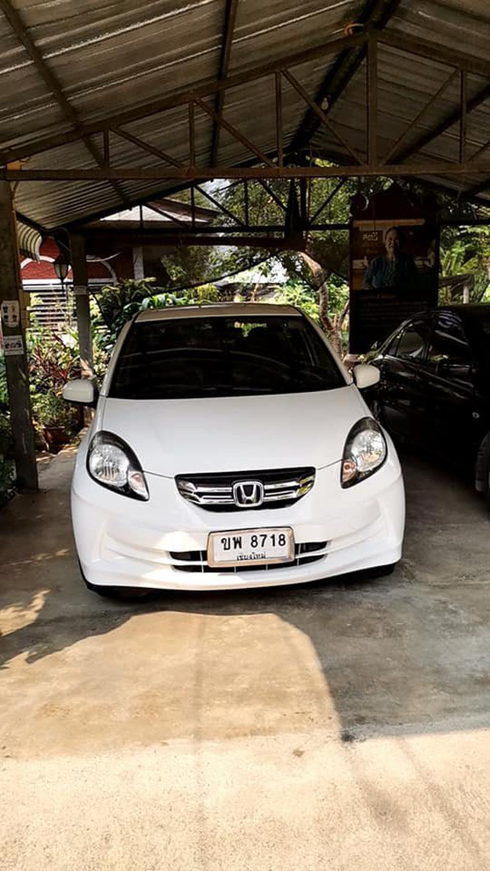 ขายรถบ้าน Honda Brio Amaze 1.2V/AT ตัวท๊อปปี 2013 รูปที่ 1