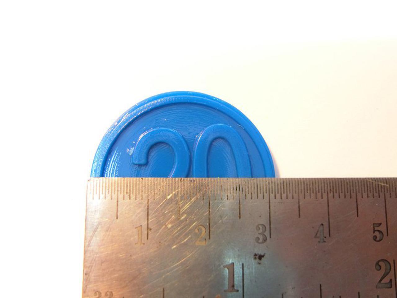 ขายเหรียญชิป คูปอง เหรียญชิพพลาสติกราคาถูกที่สุด รูปที่ 4