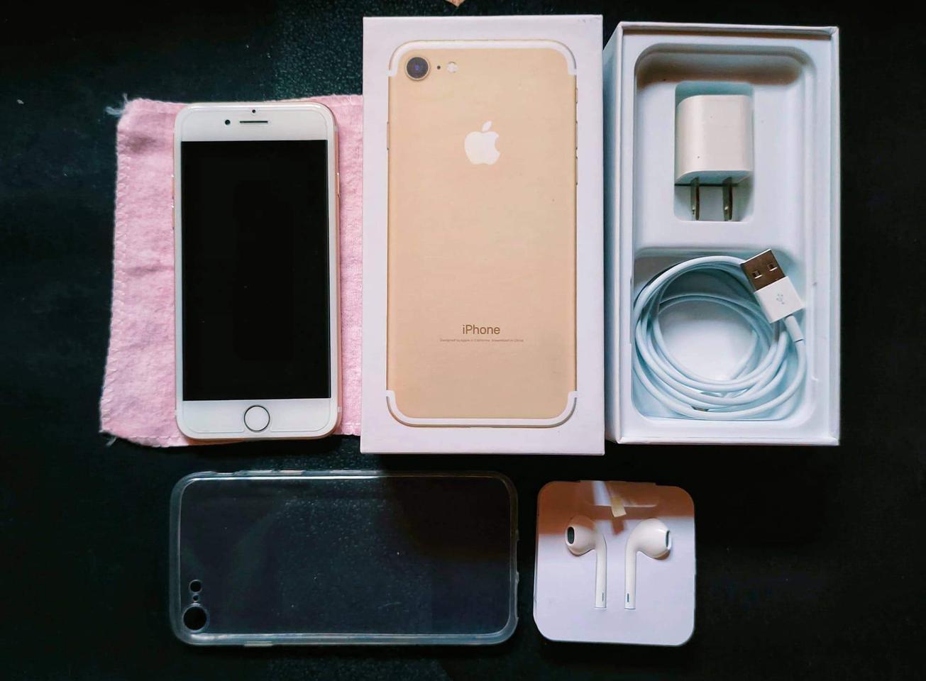 iPhone7 มือสอง 128G สีทอง รูปที่ 1