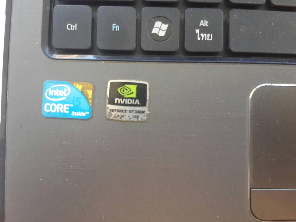 notebook Acer Aspire M450 รูปที่ 3
