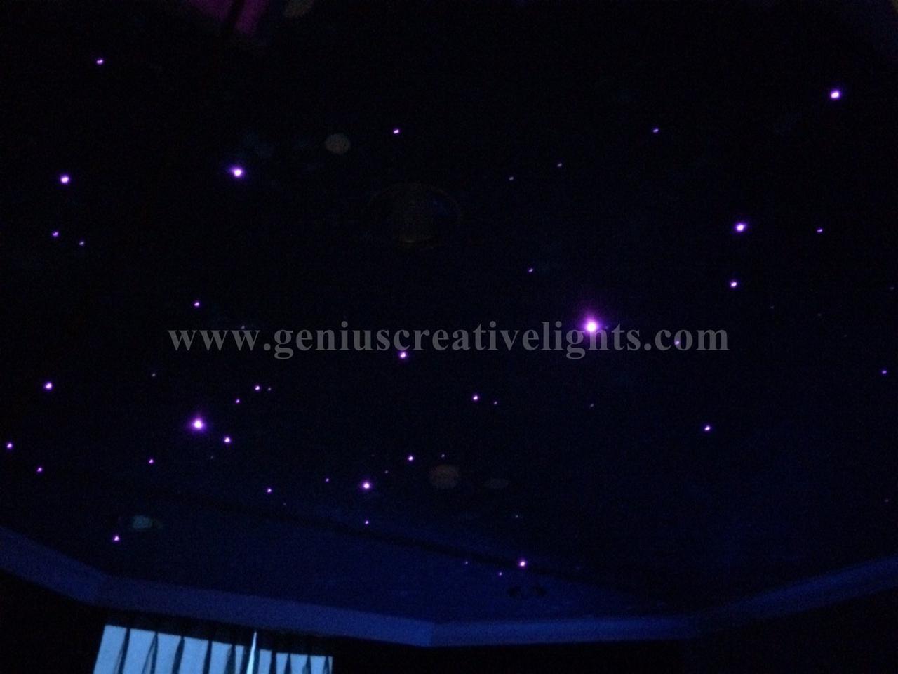 LED Fiber optic stars ceiling ในห้องนอน รูปที่ 1