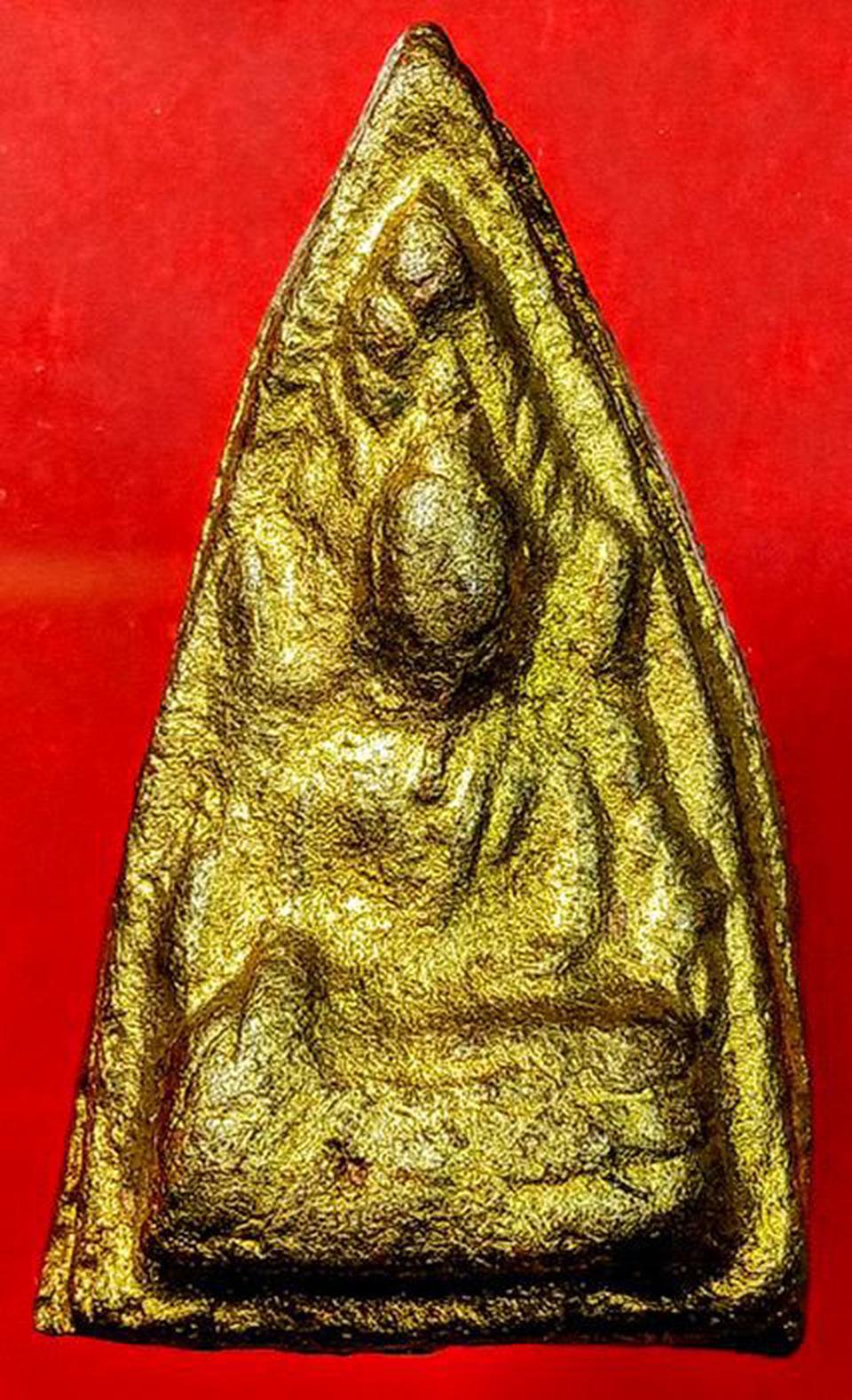 พระพุทธชินราช เนื้อดิน หลวงปู่ยิ้ม วัดเจ้าเจ็ด จ.อยุธยา รูปที่ 3