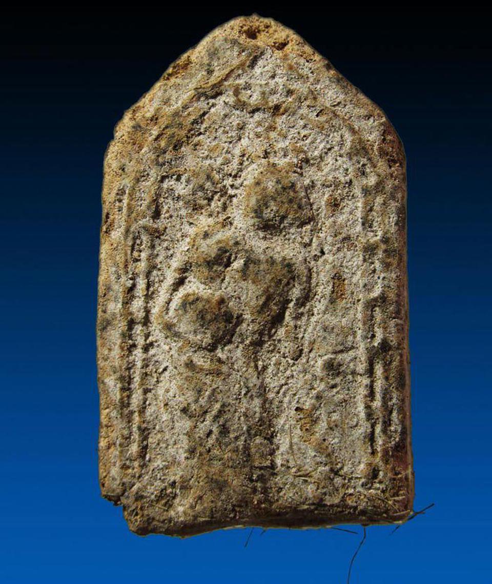 พระสิวลีผงพรายกุมาร  เนื้อยานัตถ์ หลวงปู่ทิม วัดละหารไร่ ปี2515 รูปที่ 1