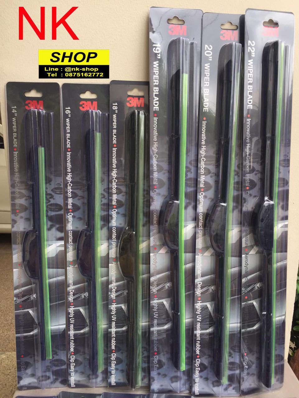 ใบปัดน้ำฝน 3M Wiper Blade  ของแท้ ทรง Aero Blade รูปที่ 3