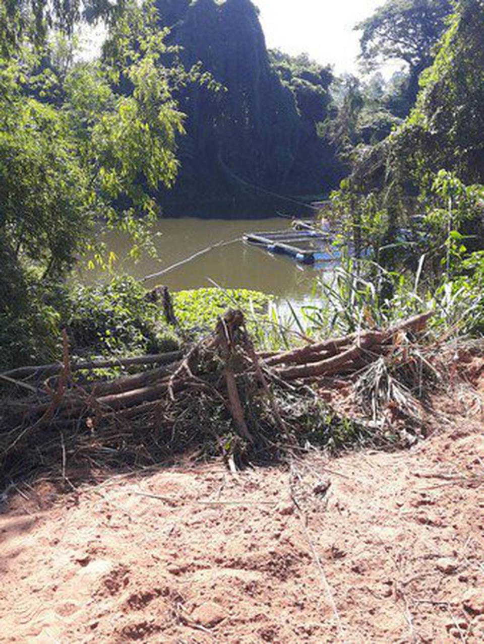 ขายที่ดินเปล่า ติดลำน้ำพอง บ้านบึงท่าแก อำเภอเมือง จังหวัดขอนแก่น รูปที่ 3