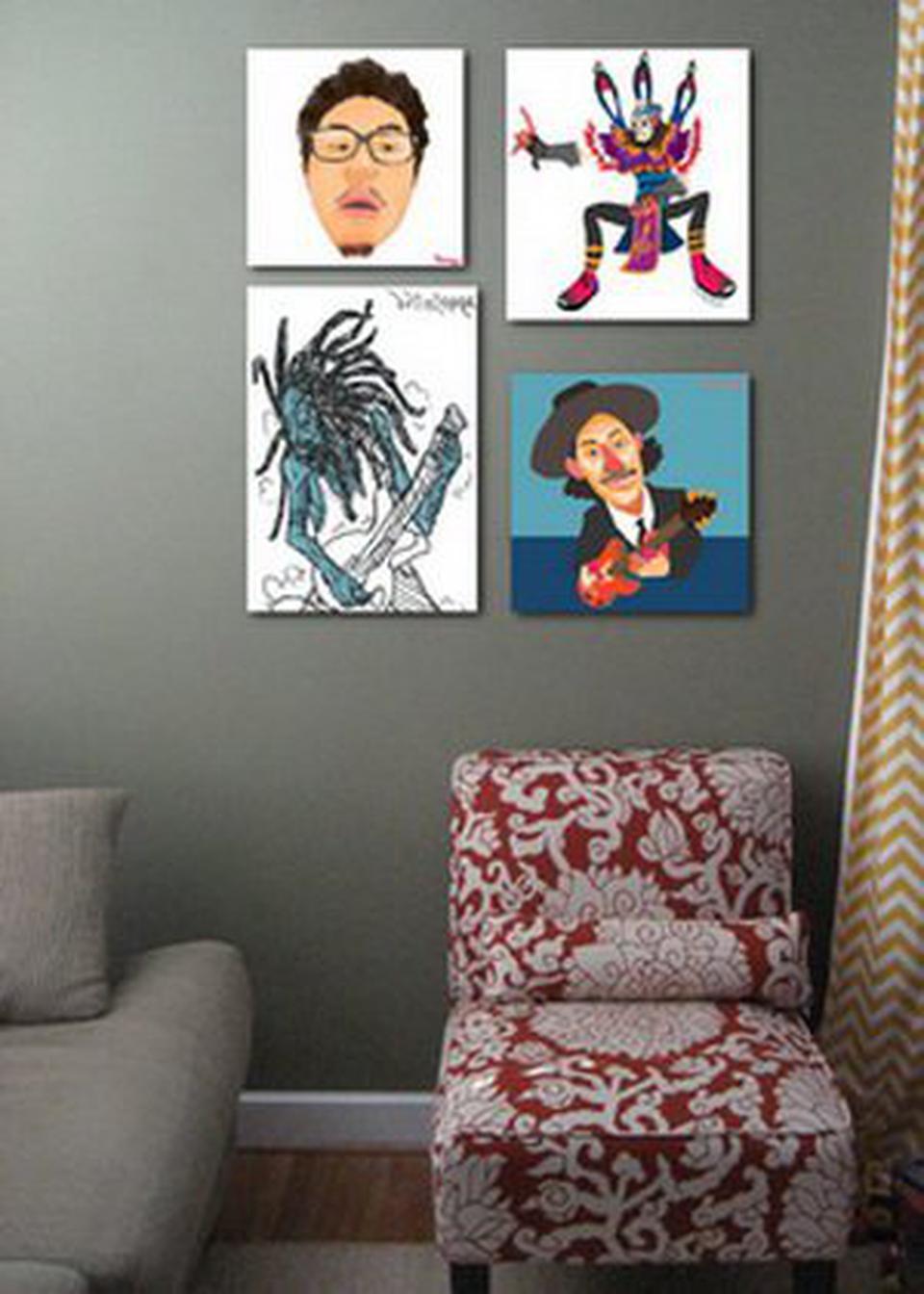 แต่งห้องแนวๆด้วยรูปติดผนังห้องแบบการ์ตูนครับ รูปที่ 2