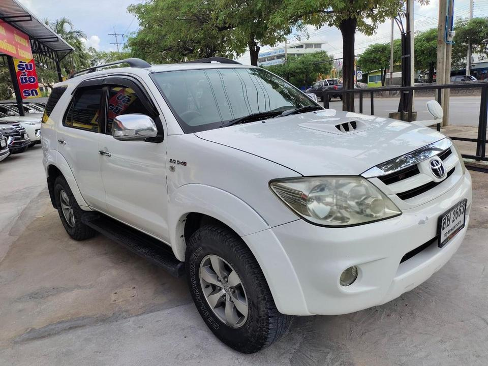 Toyota fortuner 3.0 4WD รูปที่ 3