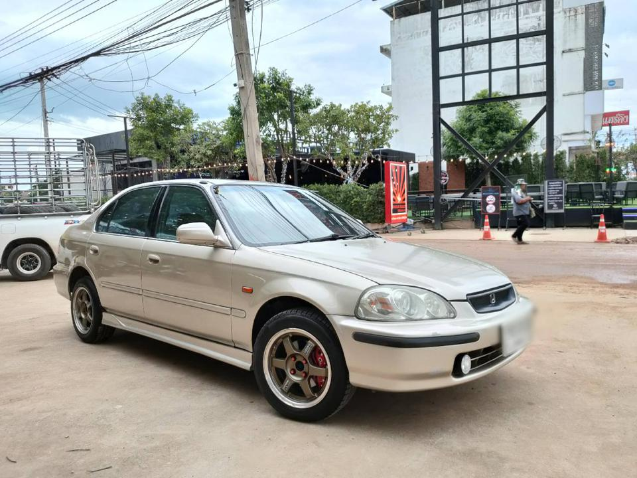 ขายรถเก๋ง Honda civic ตาโตปี 96  จ.พิษณุโลก รูปที่ 2