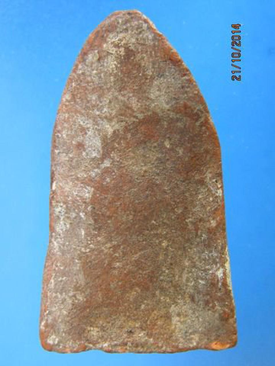 627 พระชินราชใบเสมาพิมพ์ใหญ่ เนื้อดินเผา จ.พิษณุโลก หายากกว่ รูปที่ 3