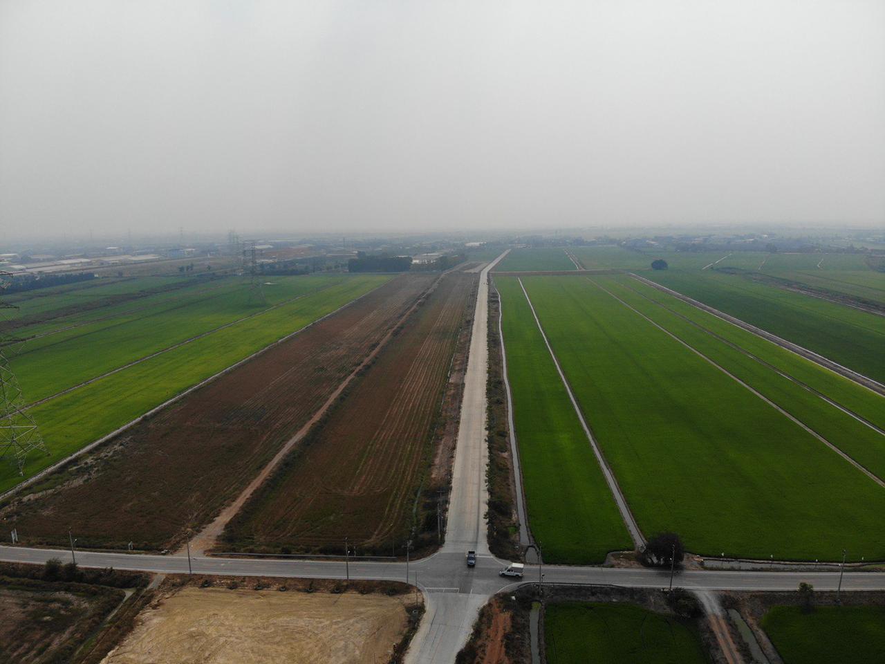 S301 ที่ดินแบ่งขายราคาถูก ขนาด 10 ไร่ ไทรน้อย นนทบุรี ราคา 4 ล้านบาท/ไร่ รูปที่ 6