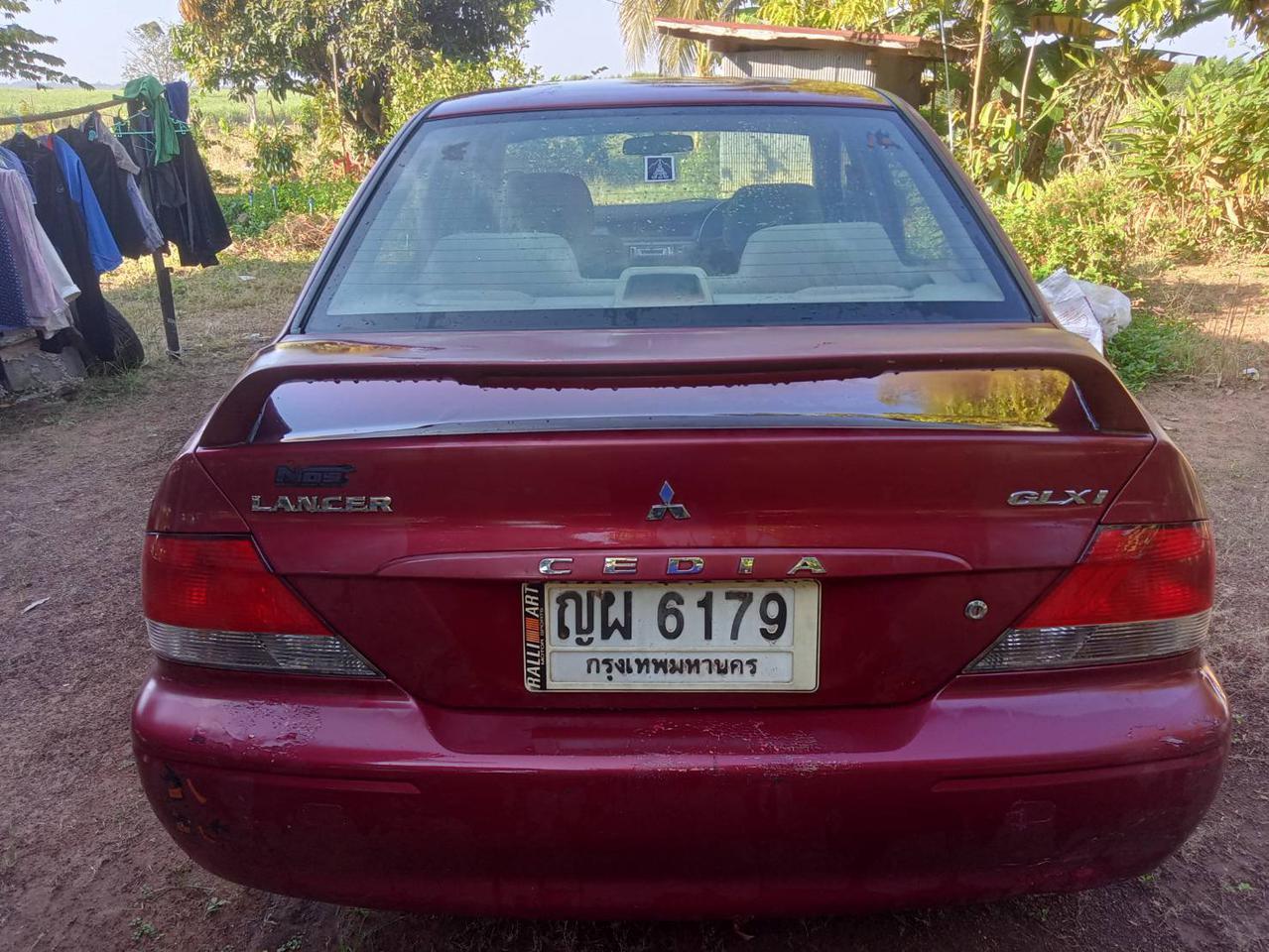 ขออนุญาต admin ขาย Mitsubishi cedia ปี 2003 1.6 auto พร้อมใช้ รถวิ่งดีมาก ระบบไฟฟ้าครบ รูปที่ 4