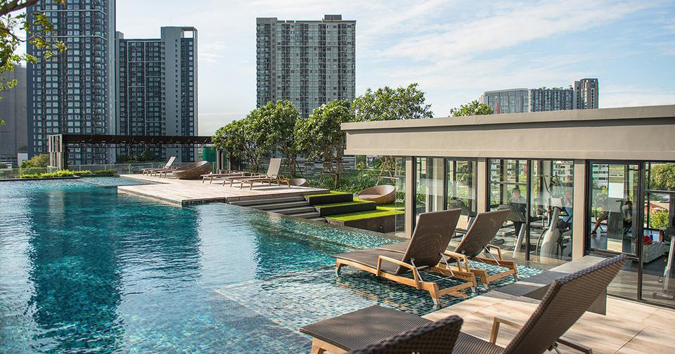 For rent   The base park west รูปที่ 3
