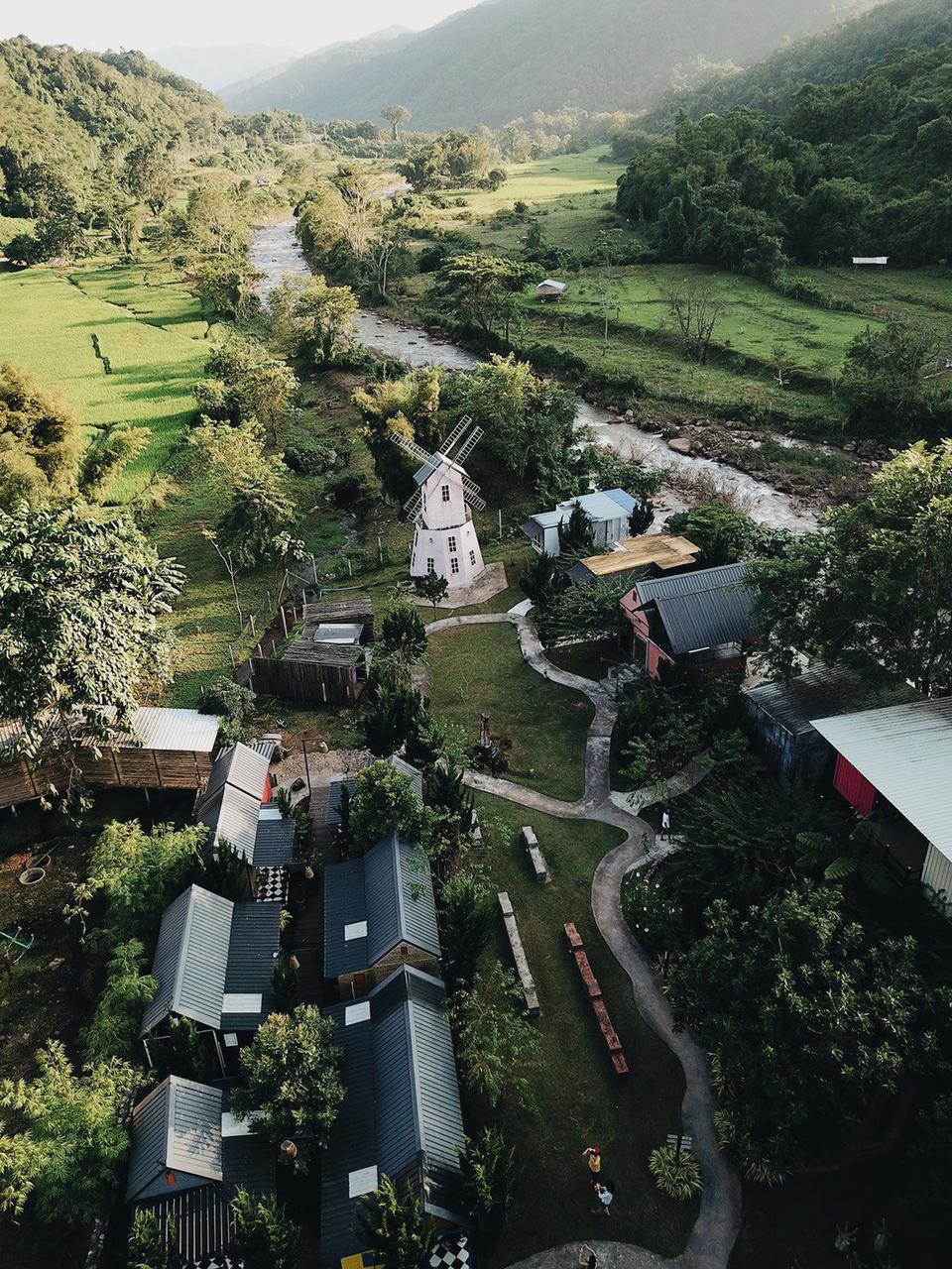 ขายกิจการ โรงแรมสุดชิค สไตล์รีสอร์ท ริมแม่น้ำมาง วิวภูเขาโอบล้อม อ.บ่อเกลือ จ.น่าน  รูปที่ 6