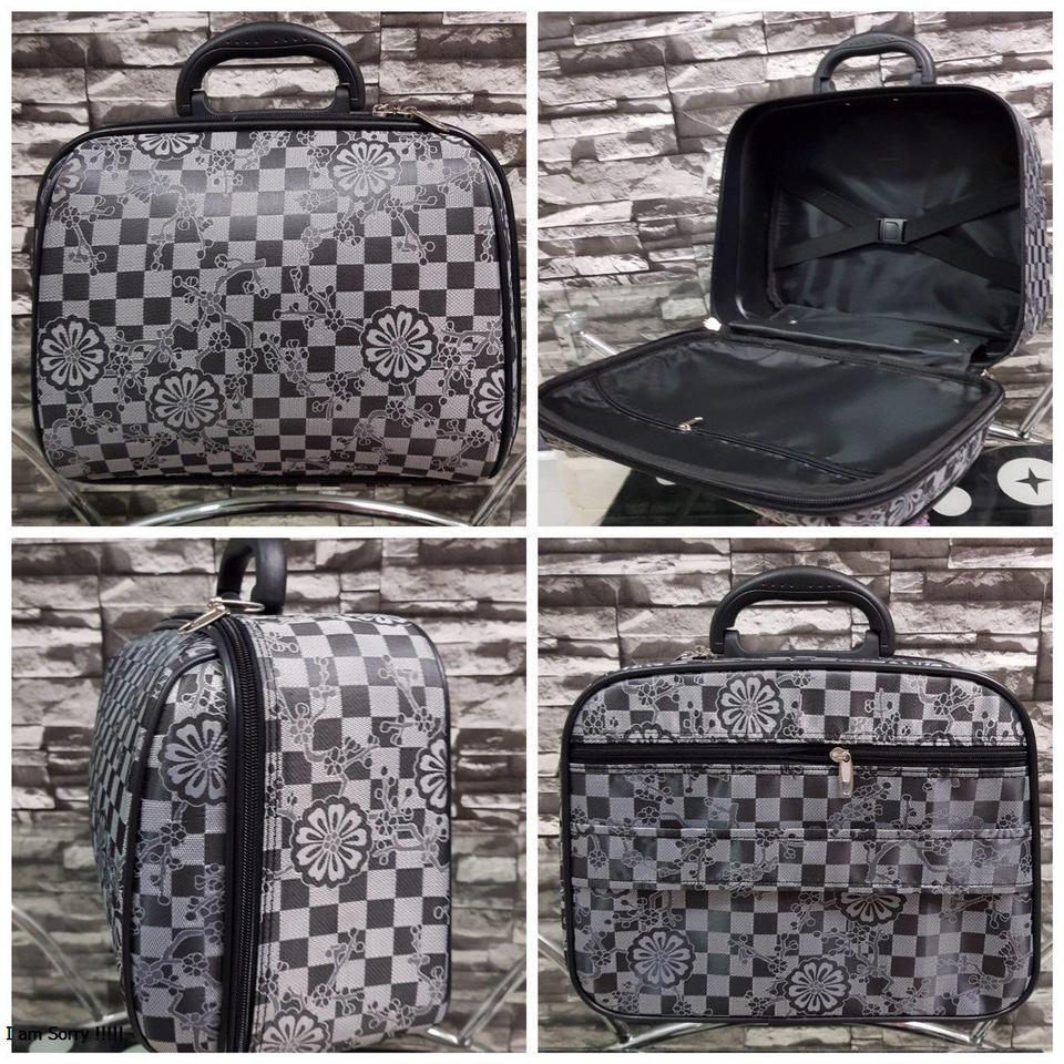 กระเป๋าเดินทางแบบผ้า 13 นิ้ว ลาย Gray/Black รูปที่ 1