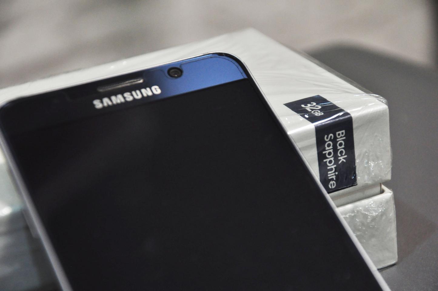 ซัมซุง note5 32GB  สี Black sapphire รูปที่ 5