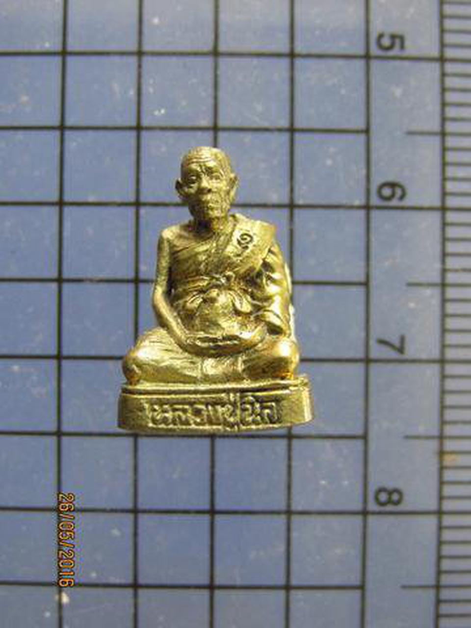 3418 พระรูปหล่อเล็กอุดกริ่งหลวงปู่นิล วัดครบุรี ปี 2536 ที่ร รูปที่ 4