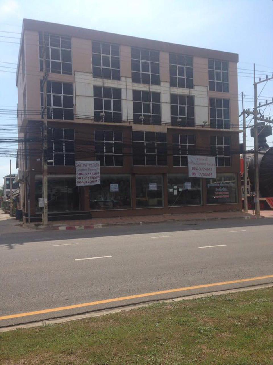 ขายอาคารติดถนนสุขุมวิท 56 พัทยาใต้ ระหว่างแมคโคร และ โลตัส รูปที่ 1