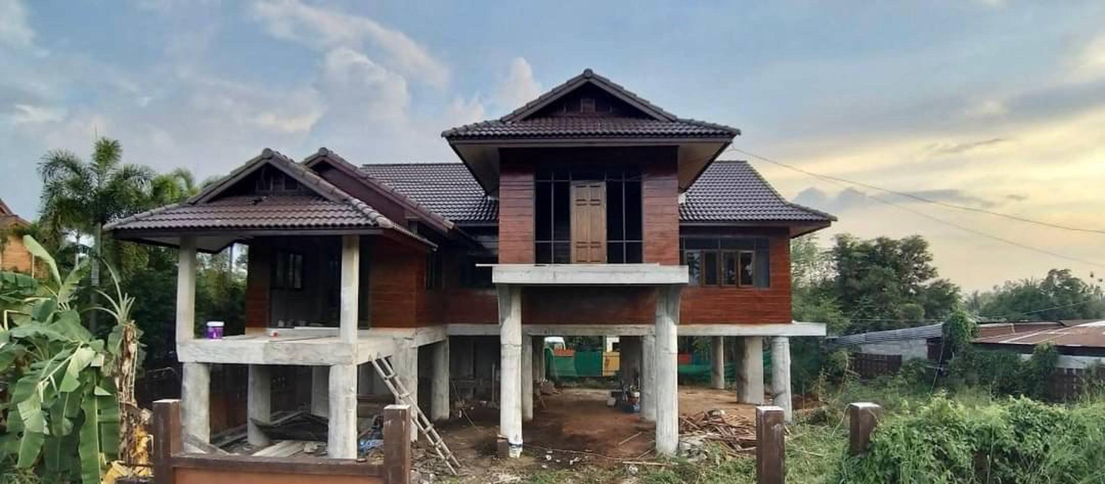 ขายบ้านเดี่ยว 2 ชั้นพัทยา  บ้านขายถูกใกล้เสร็จแล้ว ราคาขาย 3.9 ล้านบาท รูปที่ 1