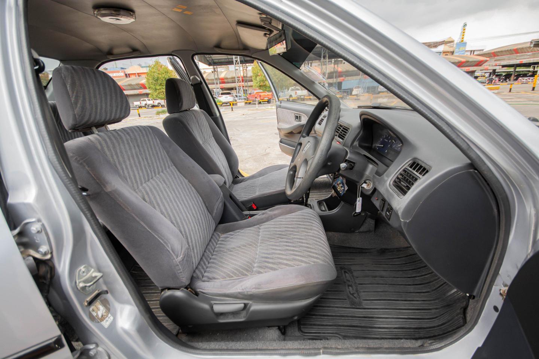 รถบ้าน ปี 2001 Honda City 1.5EXI เบนซิน สีเทา รูปที่ 4