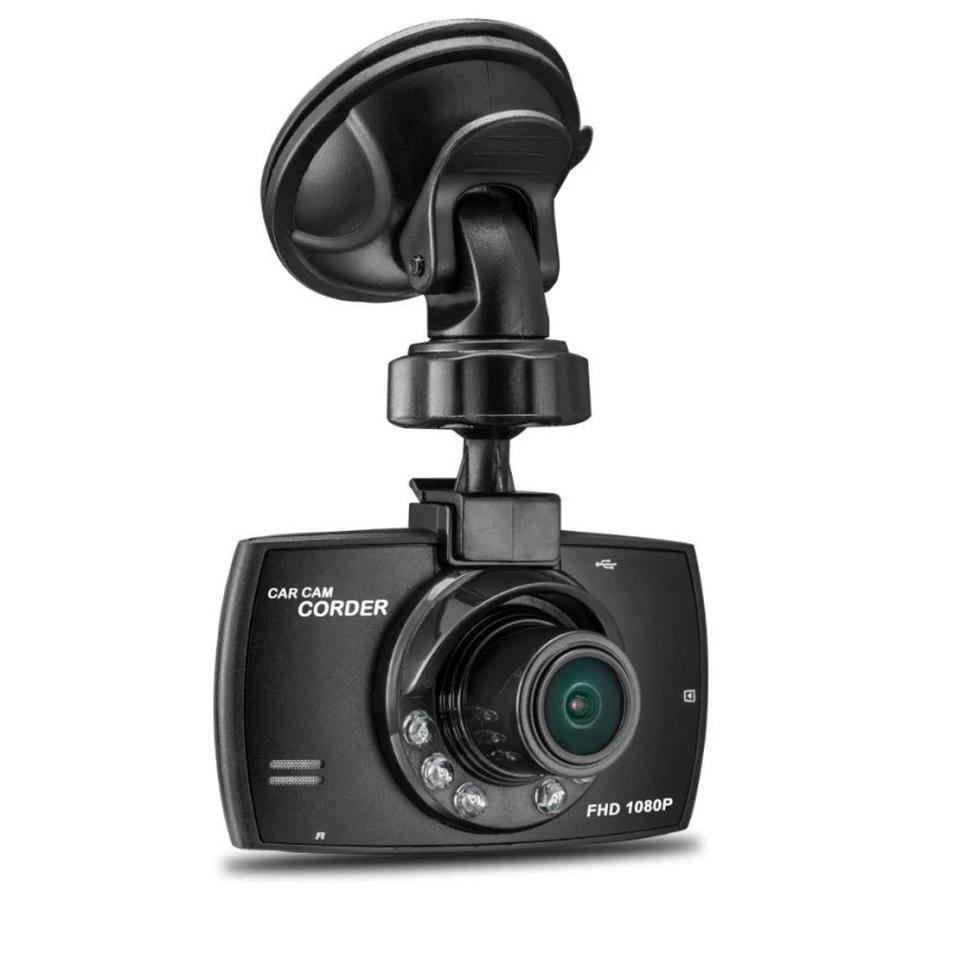 กล้องบันทึกวิดีโอติดรถยนต์ : สีดำ รูปที่ 1