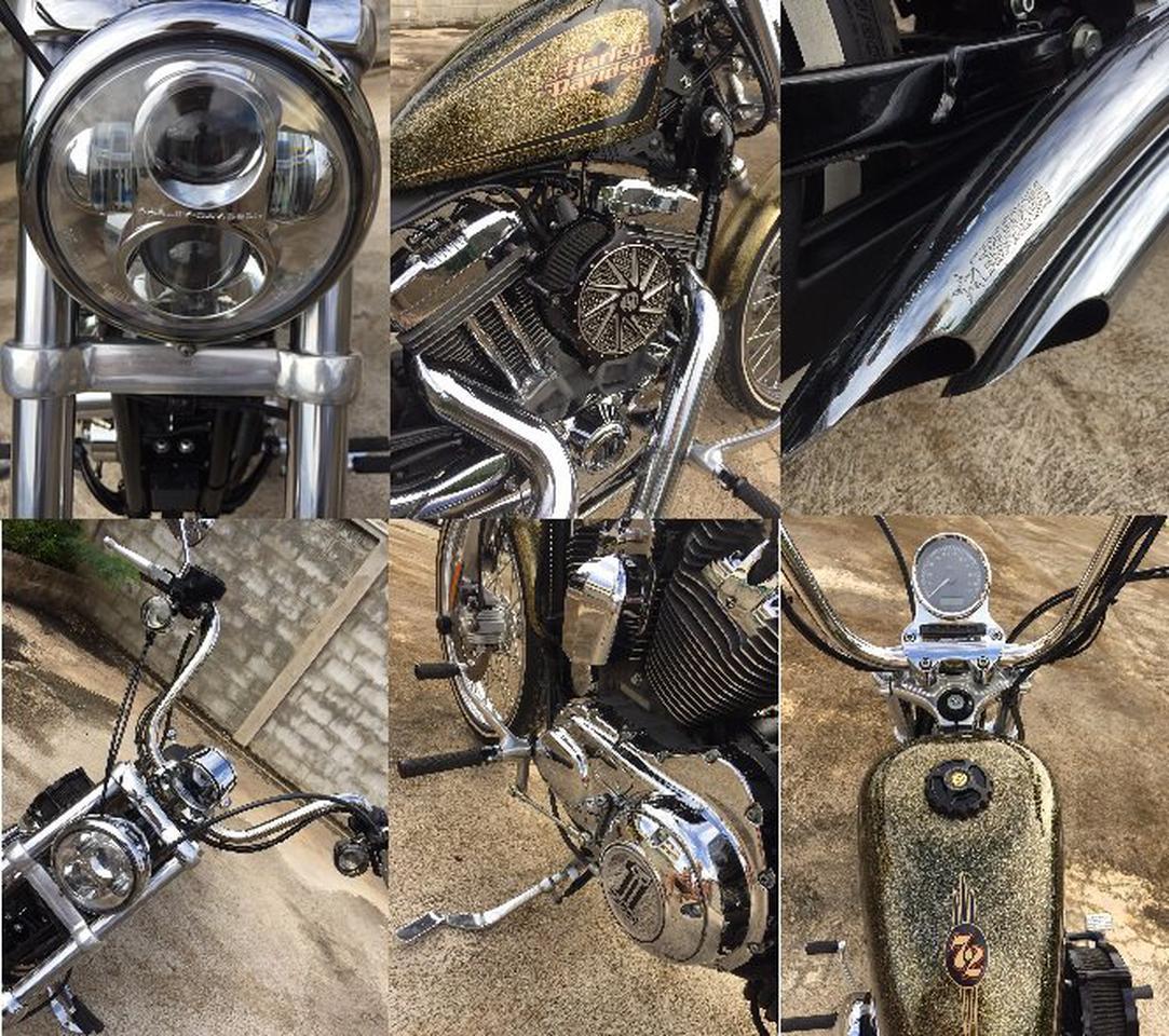 ขายมอเตอร์ไซค์ Harley Davidson seventy-two จังหวัดแพร่ รูปที่ 4