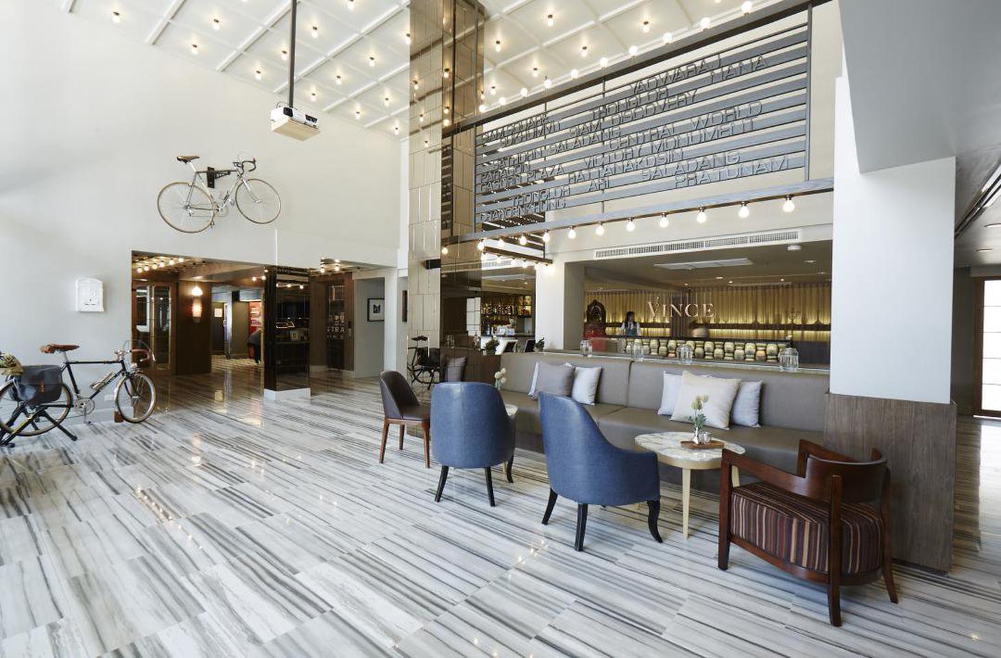 โรงแรมเปิดใหม่ ใจกลางกรุง ติดรถไฟฟ้า ราชเทวี รูปที่ 3