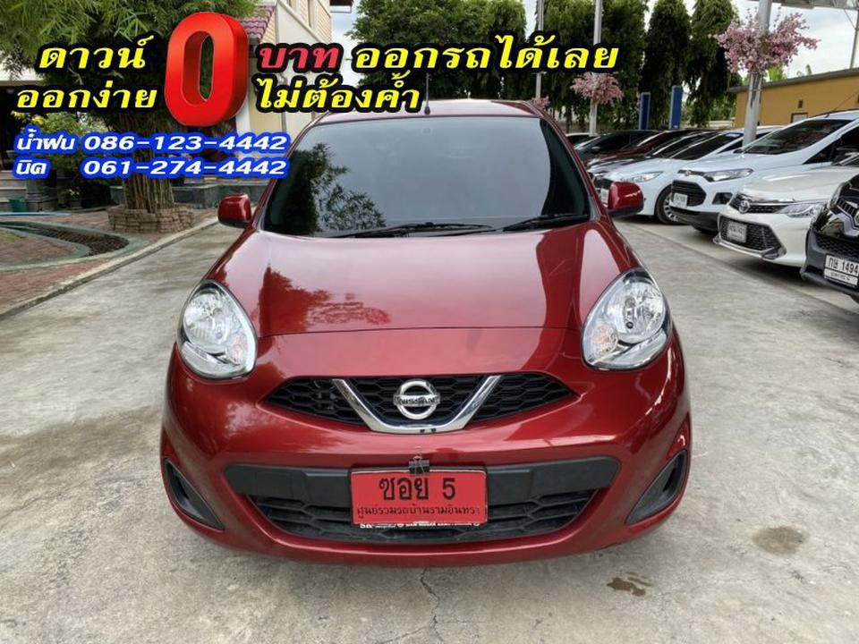 NISSAN MARCH 1.2E 2019 รูปที่ 1