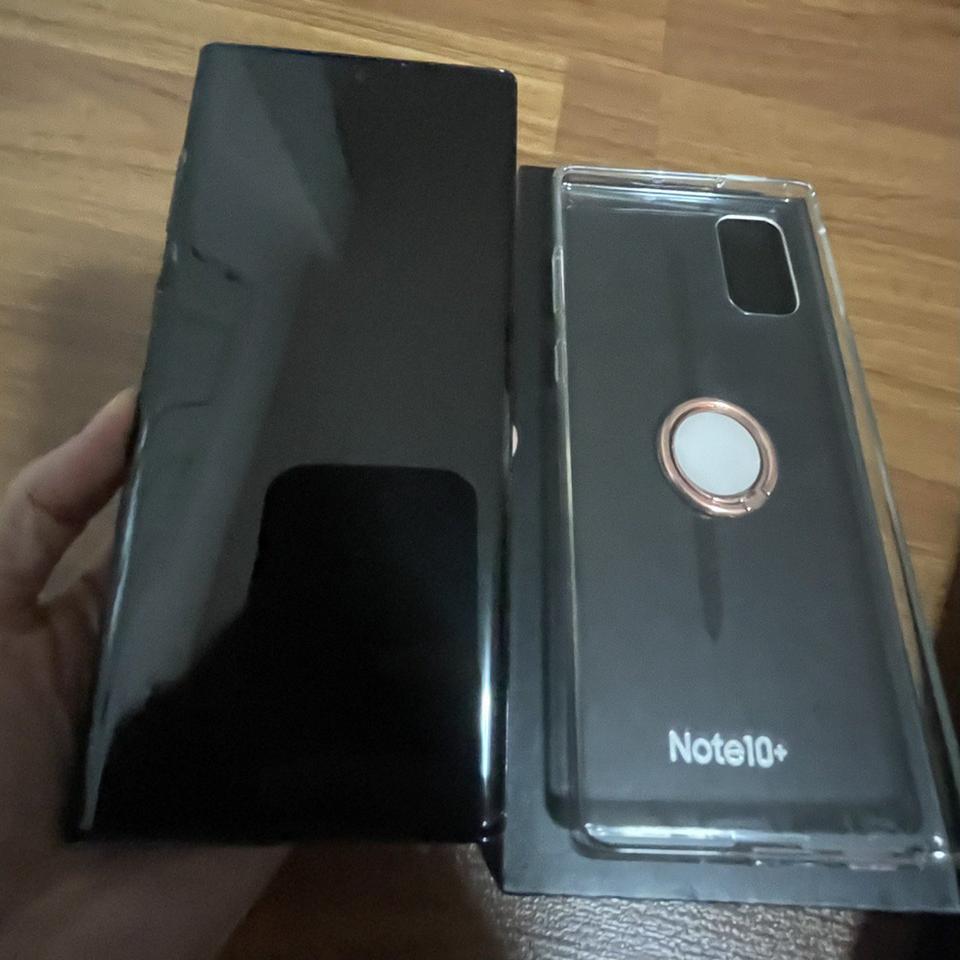 ขาย Samsung Note 10 + AuraBlack สภาพสวยมาก ของแท้ อุปกรณ์ครบยกกล่อง รูปที่ 3