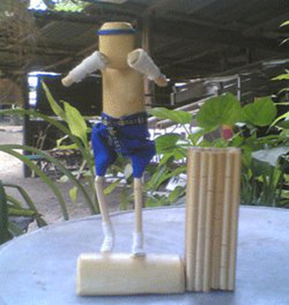 ตุ๊กตาไม้มวยไทย รูปที่ 5