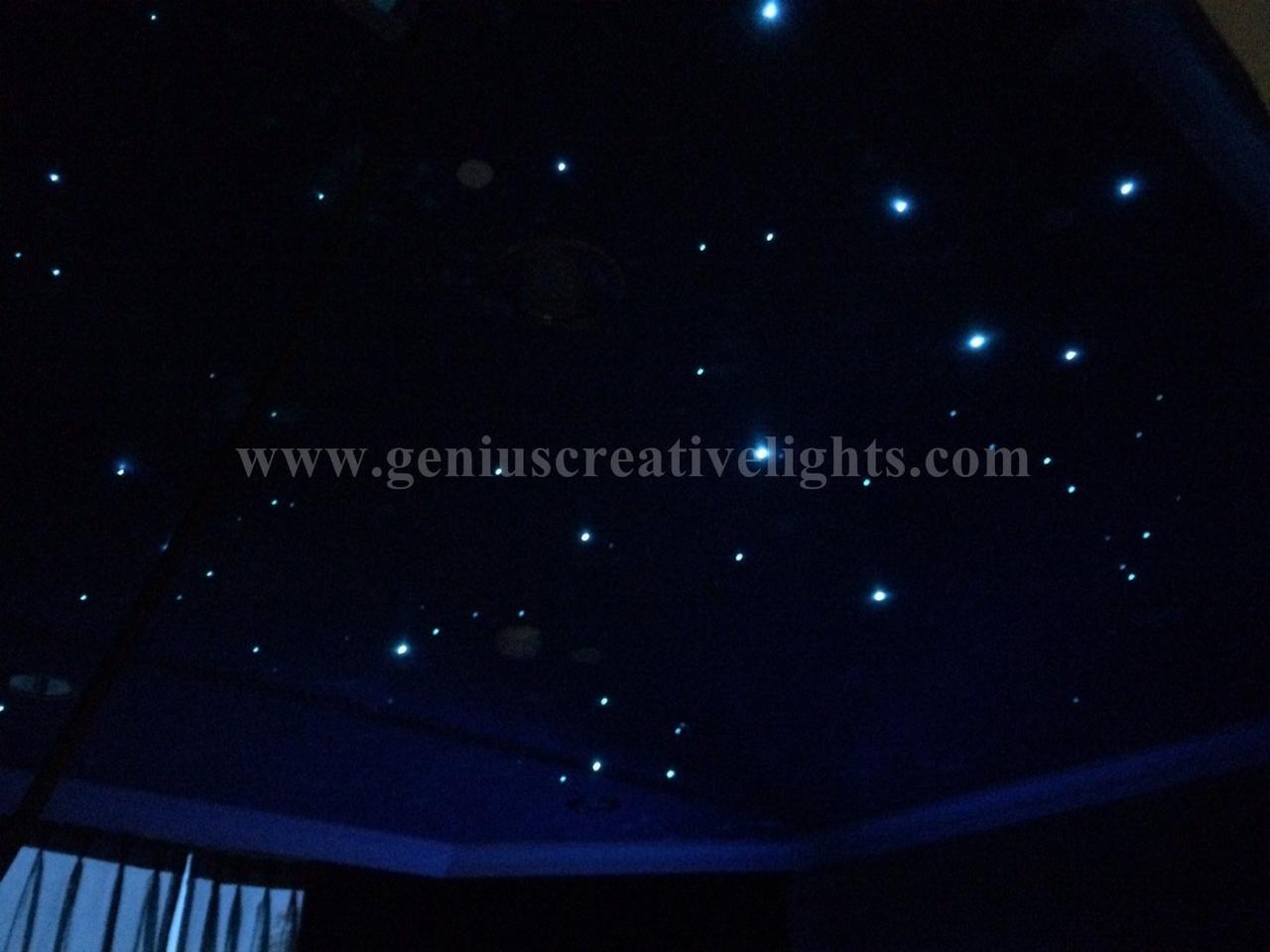 LED Fiber optic stars ceiling ในห้องนอน รูปที่ 3